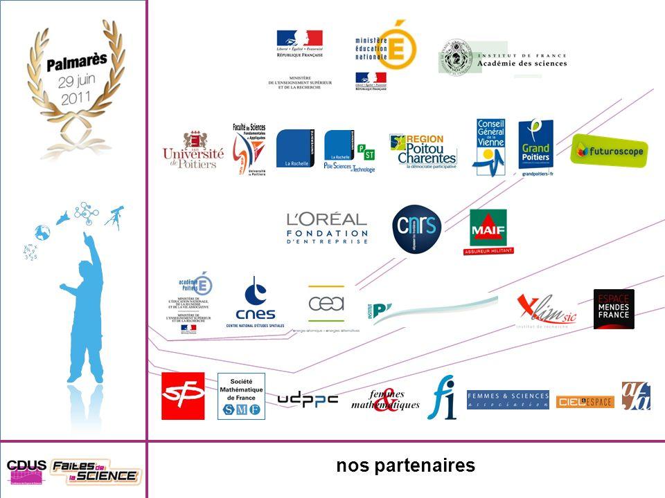 7 e prix Lycée Geoffroy Saint Hilaire - Etampes Université Paris Sud 600 de prix offert par Femmes & Sciences Femmes & Mathématiques – Femmes Ingénieurs