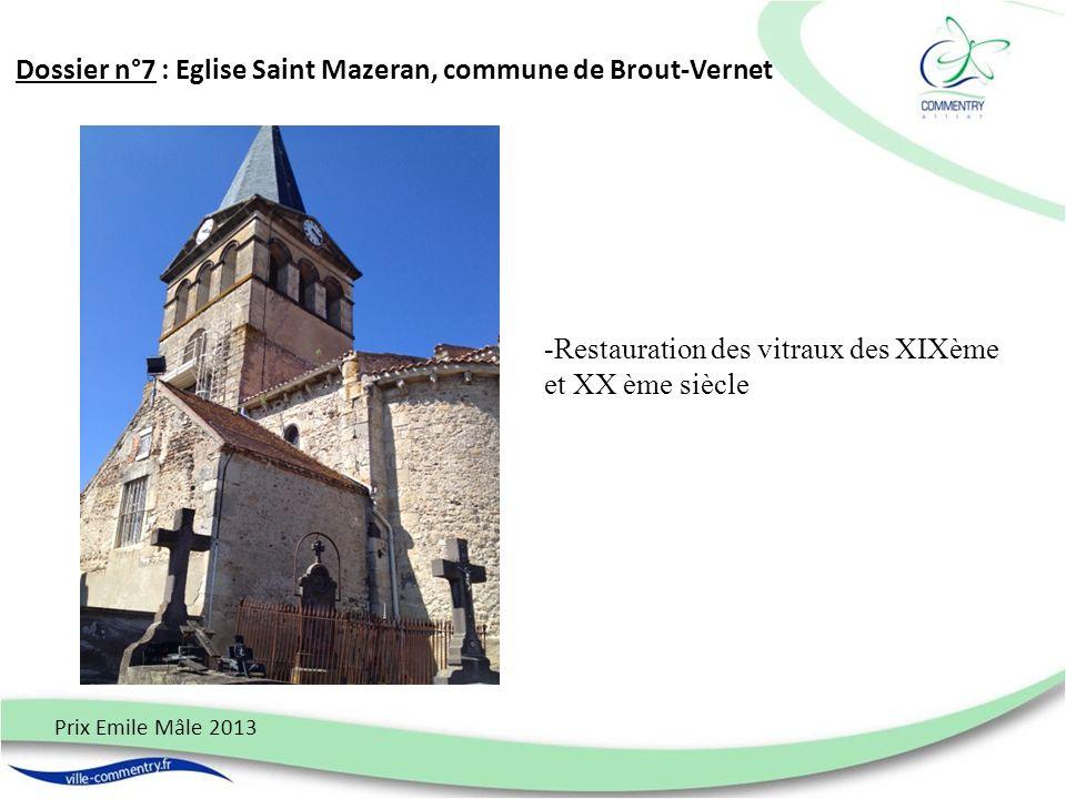 Dossier n°8 : Le Poids public de Hyds Prix Emile Mâle 2013 La restauration du poids public de Hyds