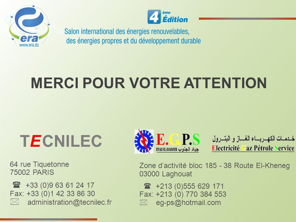 64 rue Tiquetonne 75002 PARIS +33 (0)9 63 61 24 17 Fax: +33 (0)1 42 33 86 30 administration@tecnilec.fr MERCI POUR VOTRE ATTENTION TE CNILEC Zone dact