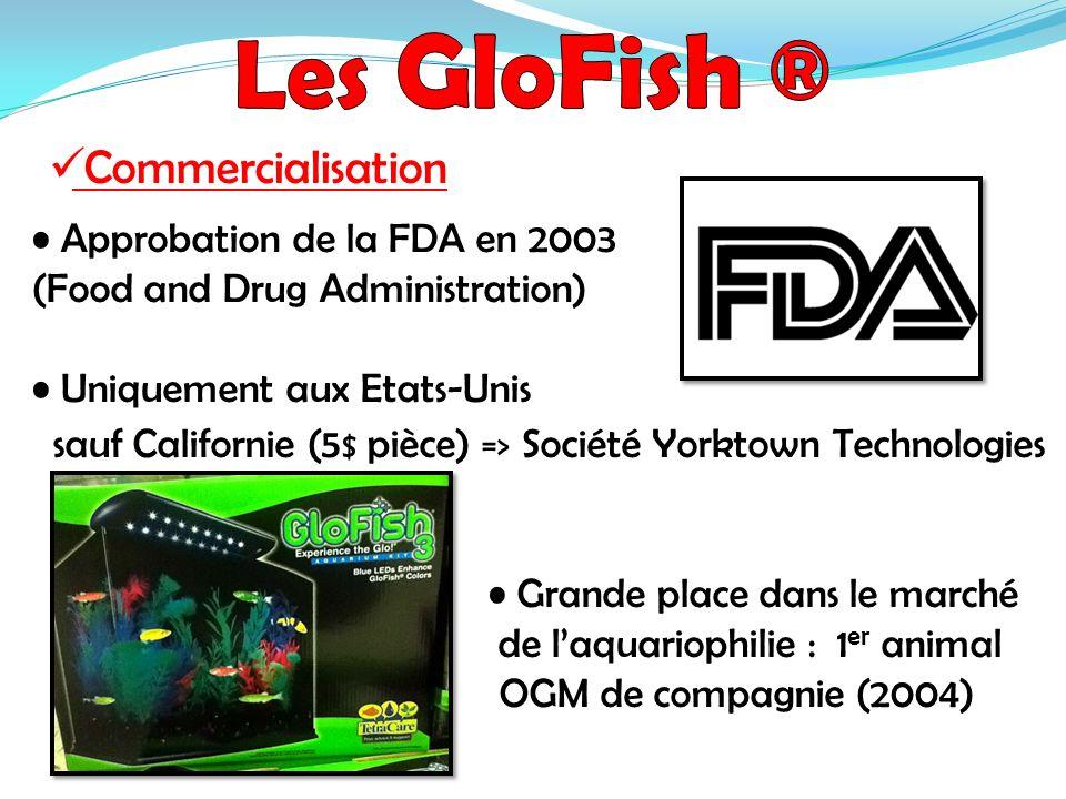 Approbation de la FDA en 2003 (Food and Drug Administration) Uniquement aux Etats-Unis sauf Californie (5 $ pièce) => Société Yorktown Technologies Gr