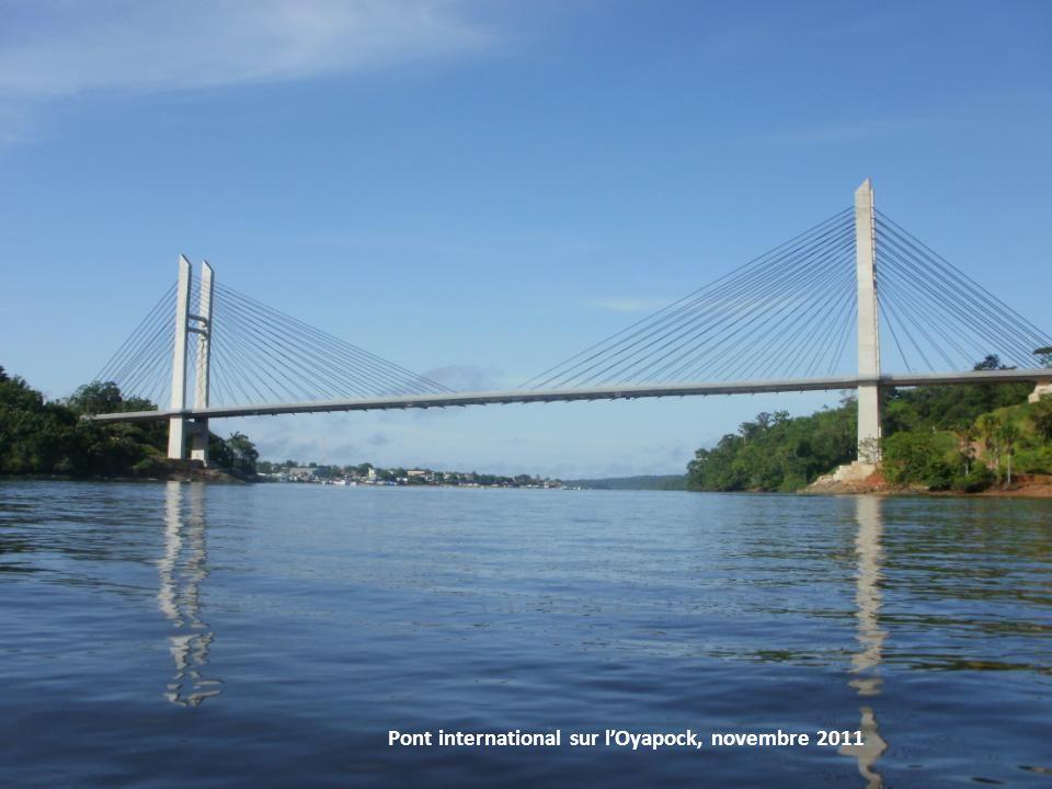 Pont international sur lOyapock, novembre 2011