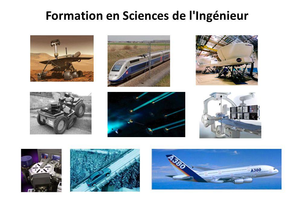 Formation en Sciences de l Ingénieur