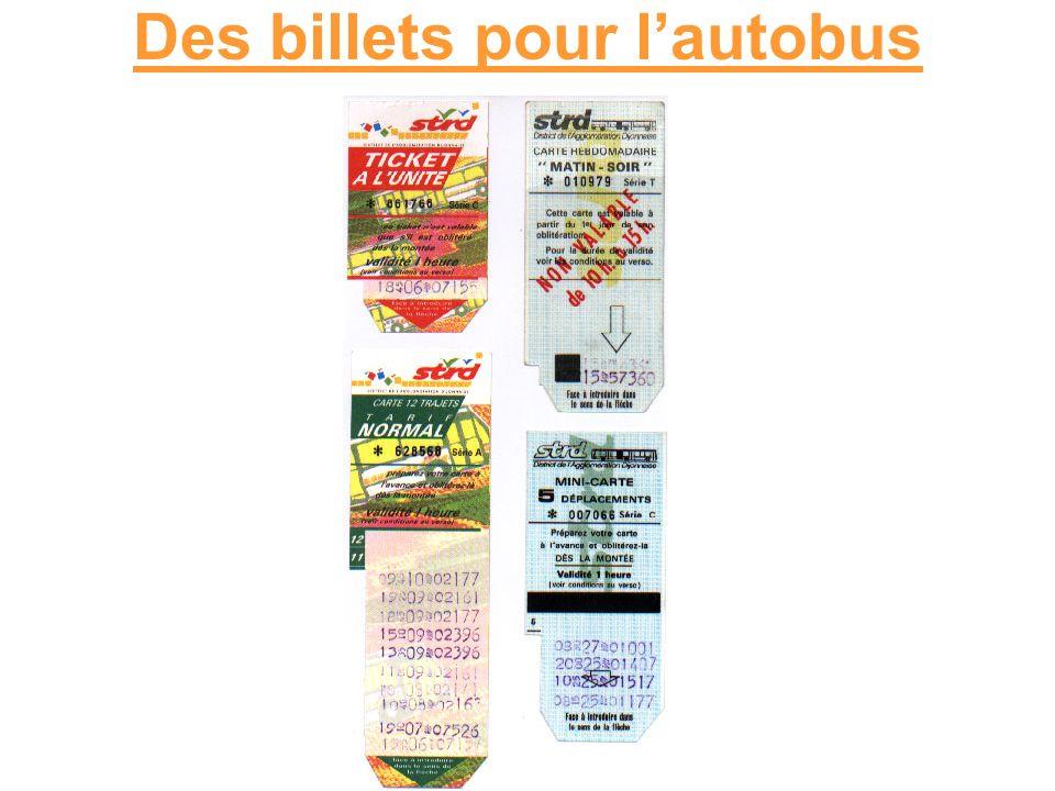 Les autobus en France