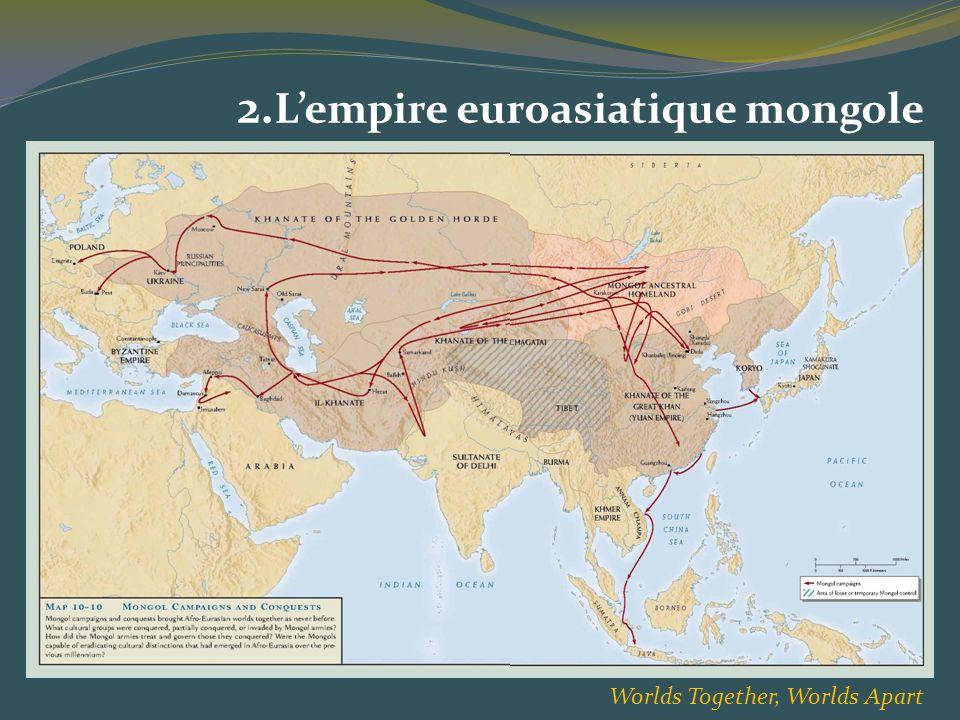 2. Lempire euroasiatique mongole Worlds Together, Worlds Apart