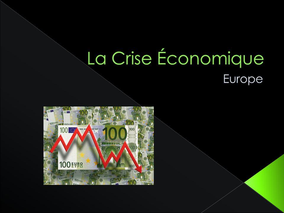 Une crise économique est une dégradation brutale de la situation économique et des perspectives économiques.