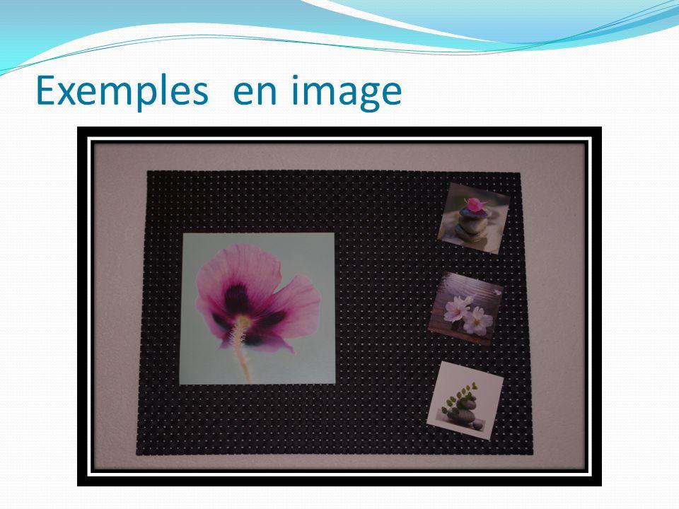 Exemples en image