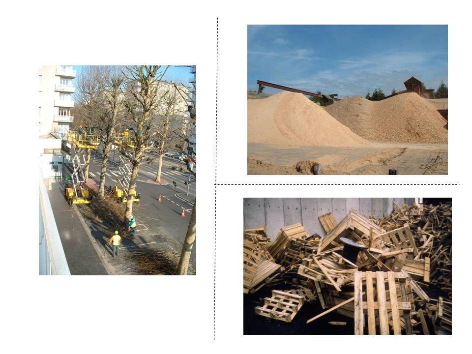 B - La transformation des matières premières ligneuses en combustibles= plate-forme Producteur/distributeur de combustibles bois = interface entre détenteurs des ressources et acheteurs (faire coïncider loffre et la demande).