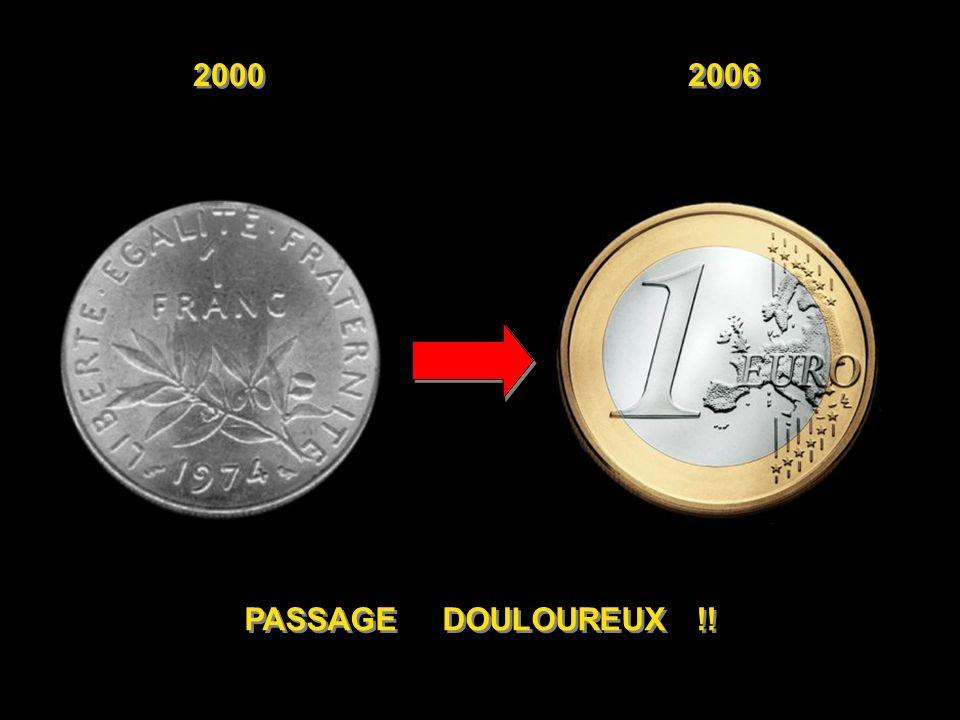 Diaporamas-a-la-con.com 20002006 Écart 3 francs ( 0,46 euro) 0,85 euro + 85% BAGUETTE