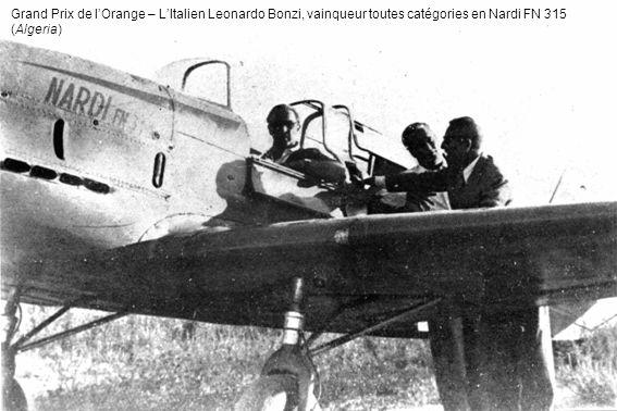 Grand Prix de lOrange – LItalien Leonardo Bonzi, vainqueur toutes catégories en Nardi FN 315 (Algeria)