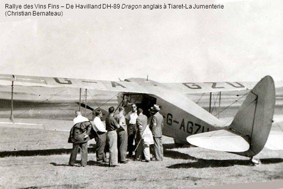 Rallye des Vins Fins – De Havilland DH-89 Dragon anglais à Tiaret-La Jumenterie (Christian Bernateau)
