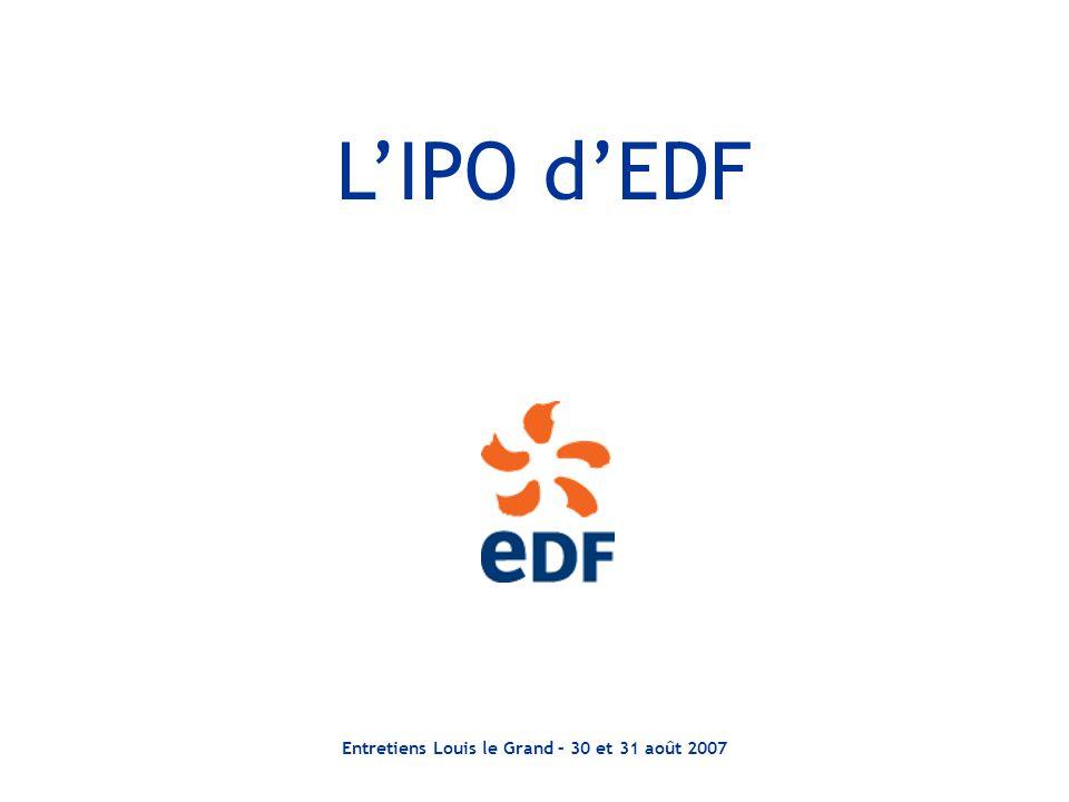 Entretiens Louis le Grand – 30 et 31 août 2007 LIPO dEDF