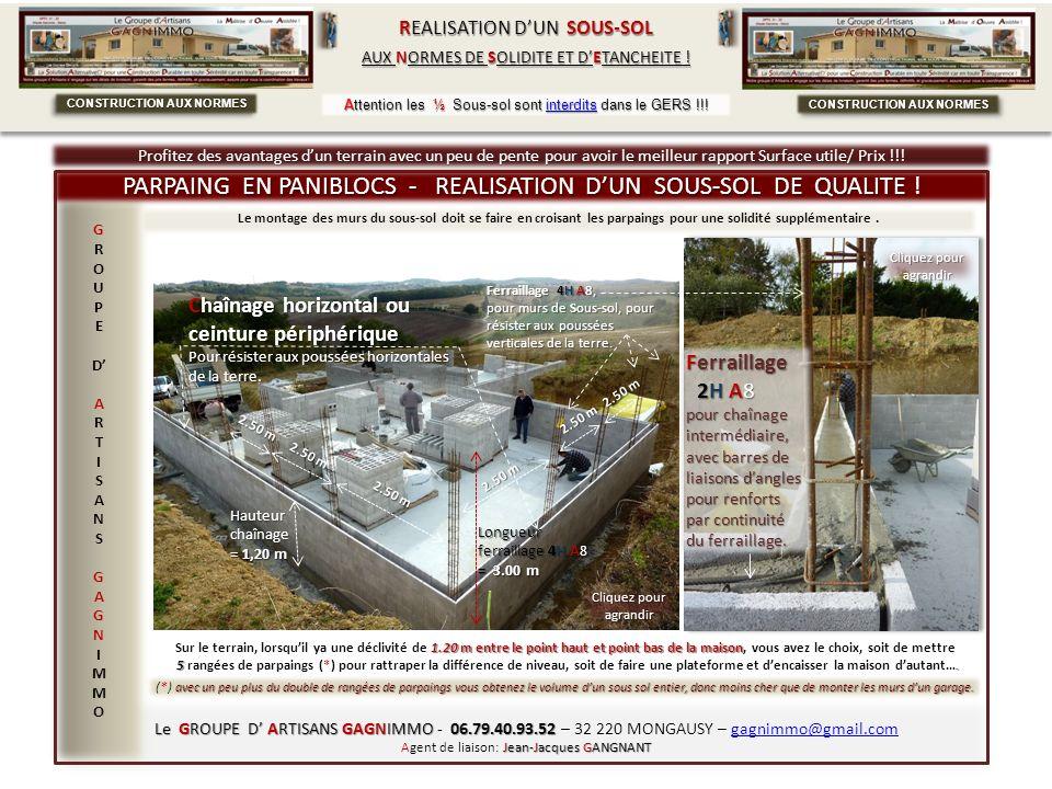 Le GROUPE D ARTISANS GAGNIMMO 06.79.40.93.52 Le GROUPE D ARTISANS GAGNIMMO - 06.79.40.93.52 – 32 220 MONGAUSY – gagnimmo@gmail.com Jean-Jacques GANGNA