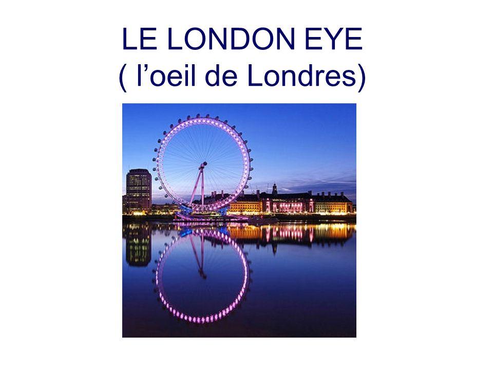 LE LONDON EYE ( loeil de Londres)