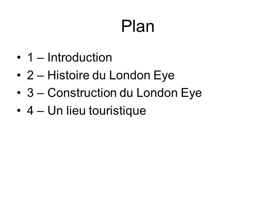 Introduction Depuis son ouverture en mars 2000, London Eye a remporté plus de 75 prix pour le tourisme international et pour son architecture exceptionnelle.
