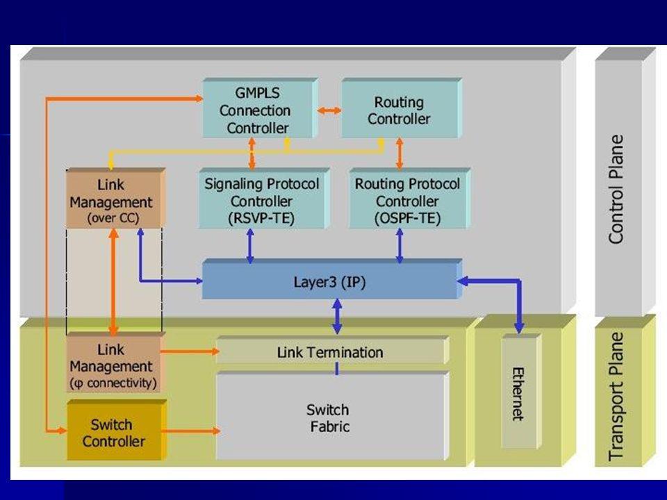 Réseaux et routage optiques GMPLS (3)