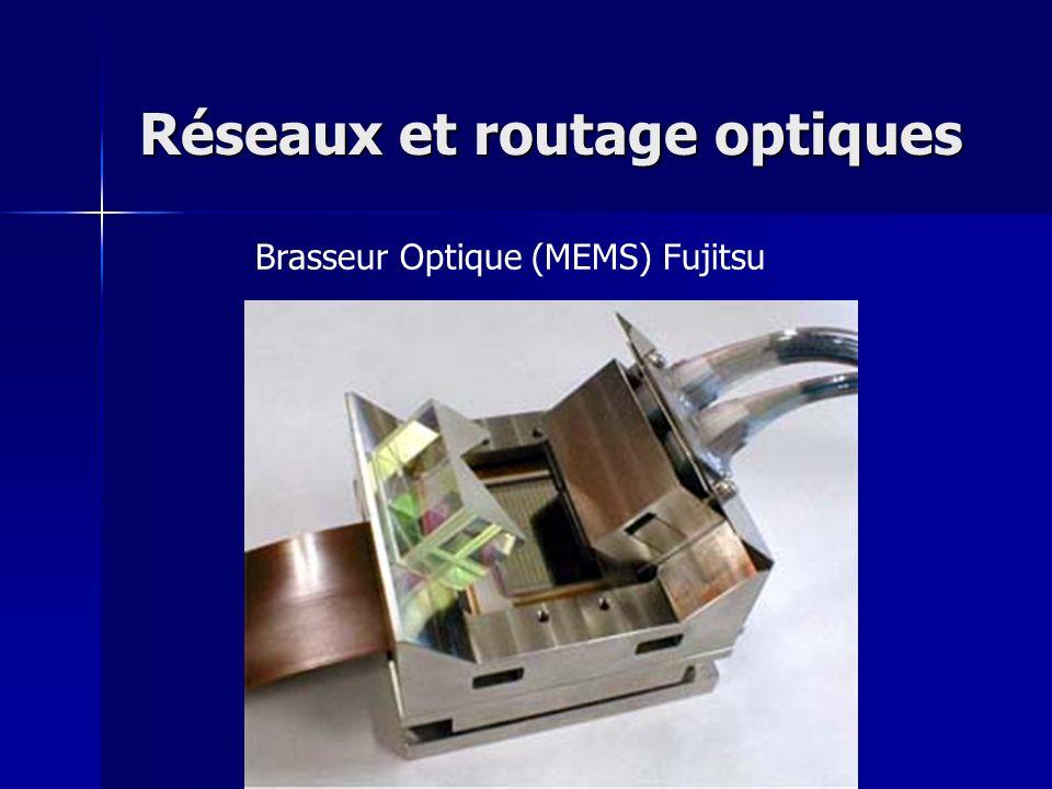 Brasseur Optique (MEMS) Fujitsu