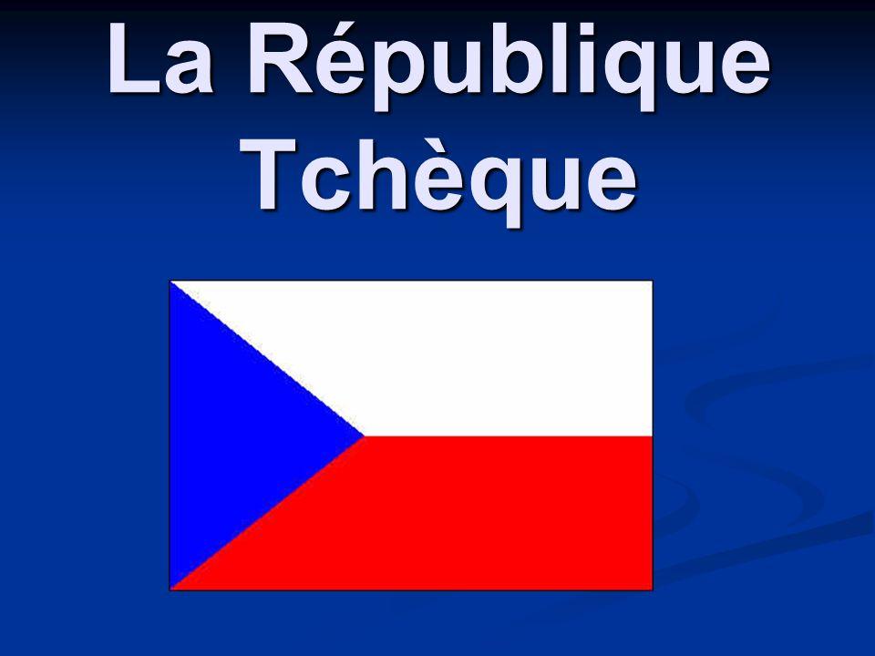 La localization de la République Tchèque