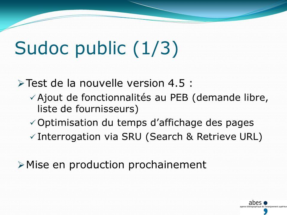 Le portail des thèses Actualités J.ABES 2010 - Isabelle Mauger Perez