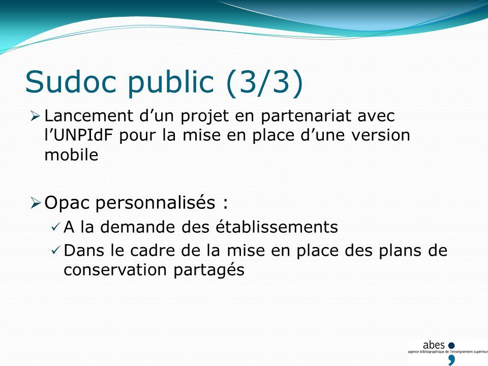 Portage du projet Couperin dERMS partagé Depuis janvier 2010 : rédaction du dossier de consultation des entreprises.
