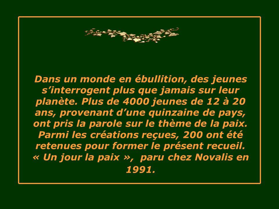 Texte : Stéphane – 19 ans Québec, Canada Musique : Ag wav Présentation Le Ber rene202@sympatico.ca