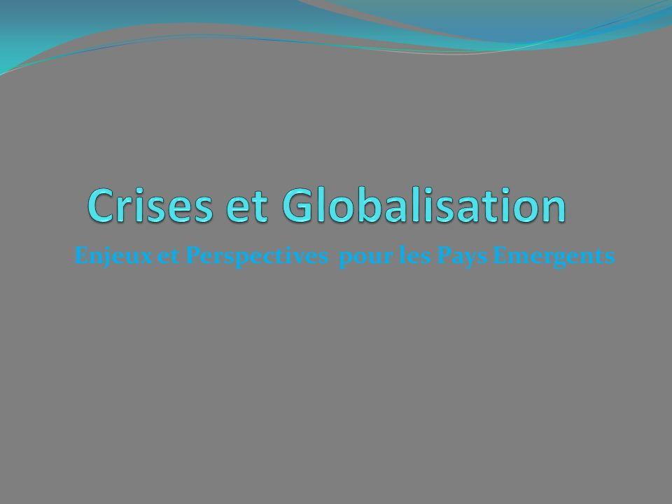 Enjeux et Perspectives pour les Pays Emergents