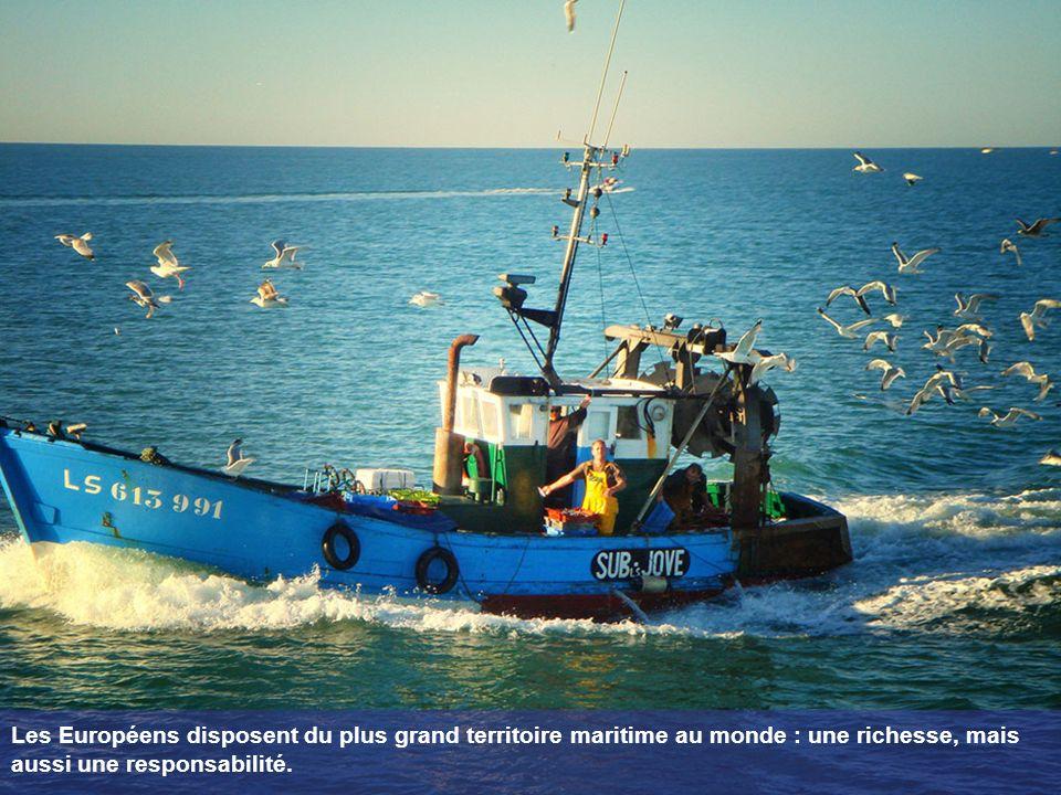 Les Européens disposent du plus grand territoire maritime au monde : une richesse, mais aussi une responsabilité.