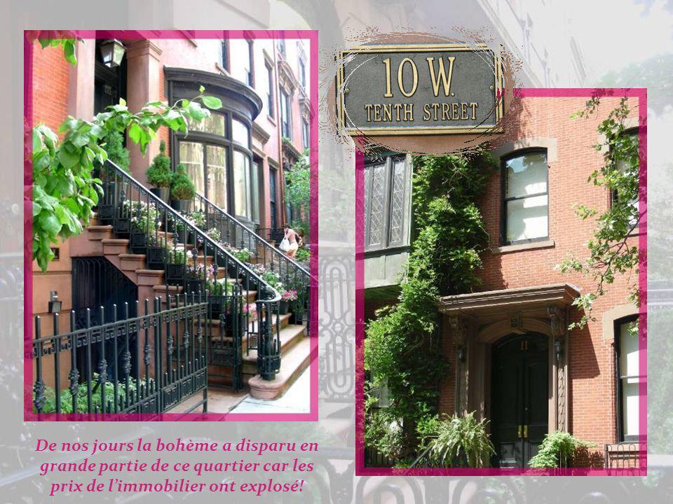 Greenwich Village, le Village comme on dit à New-York, est principalement résidentiel, situé au nord-ouest de Lower Manhattan. Ce fut dabord un villag