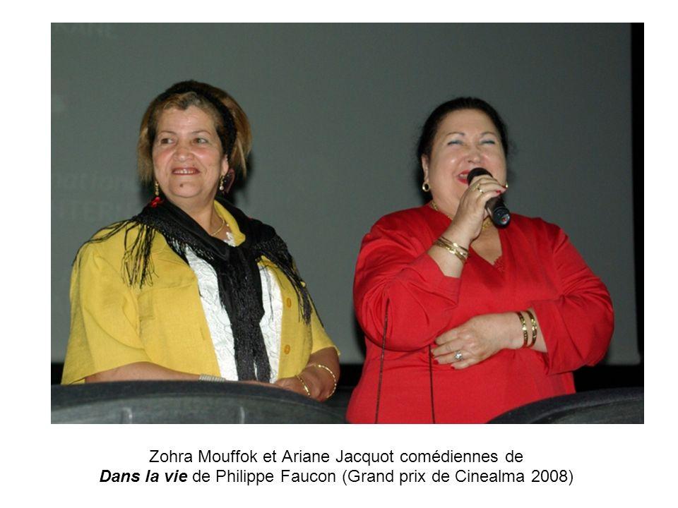 Zohra Mouffok et Ariane Jacquot comédiennes de Dans la vie de Philippe Faucon (Grand prix de Cinealma 2008)