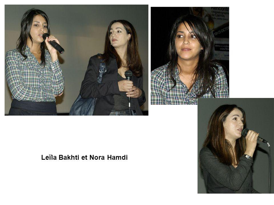 Leïla Bakhti et Nora Hamdi