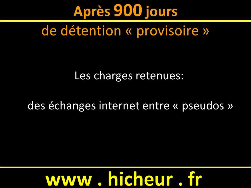 www.hicheur. fr Adlène peut-il être condamné . Ailleurs en Europe, NON En France, OUI .