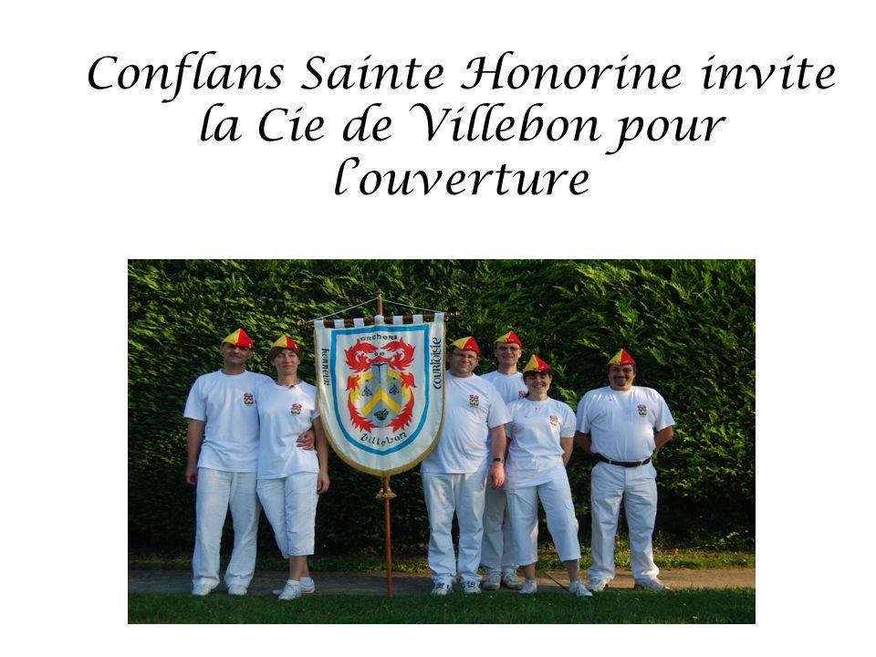 Conflans Sainte Honorine invite la Cie de Villebon pour louverture