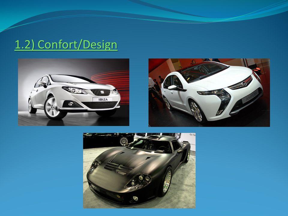 1.2) Confort/Design