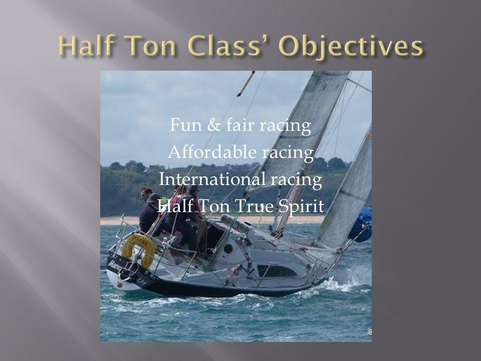Fun & fair racing Affordable racing International racing Half Ton True Spirit