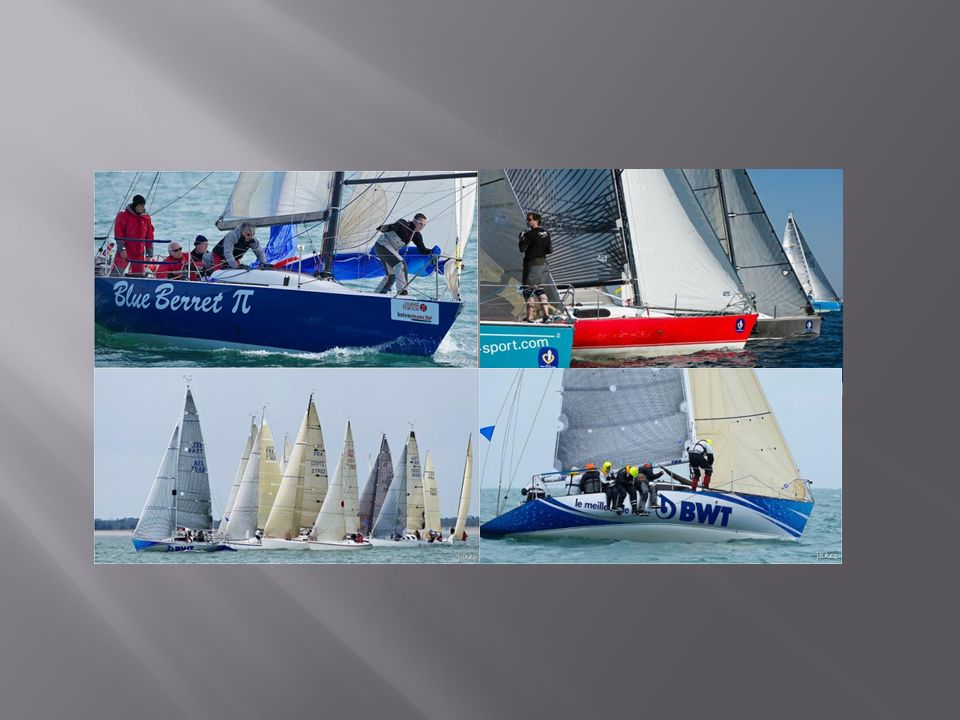 27 – 28 APR:Belgian Open IRC 9 MAY:Ostend - Ramsgate 10 MAY:Euro regatta Ramsgate 11 MAY:Ramsgate/Boulogne 18-20 MAY: GPICO 28-30 JUN: Light Vessel Weekend 150 nm for 150 years RBSC 18-23 AUG: Half Ton Classics Cup 30-31 SEP: Oostende weekend 19 OCT: Antwerp Race