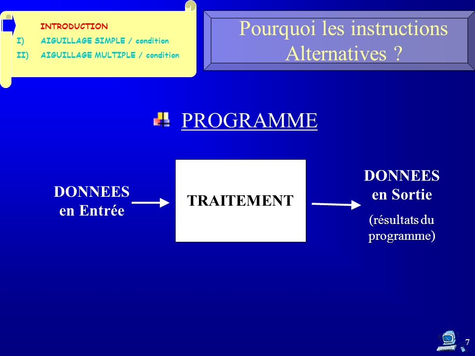 CYCLE 3 : Alternatives Faire des choix dans un programme en C 1.2- Comment marche cette instruction .