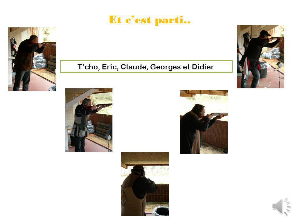 En arrivant on se gare, et on se prépare pour la première planche à 9h Denis, Patrice, Louis, les Godet « père et fils » et Dom.