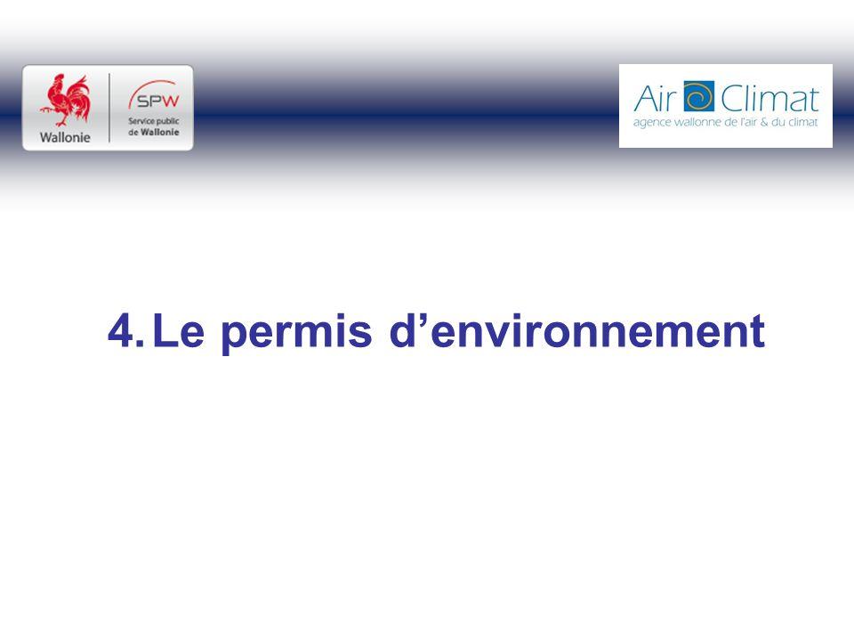 4.Le permis denvironnement