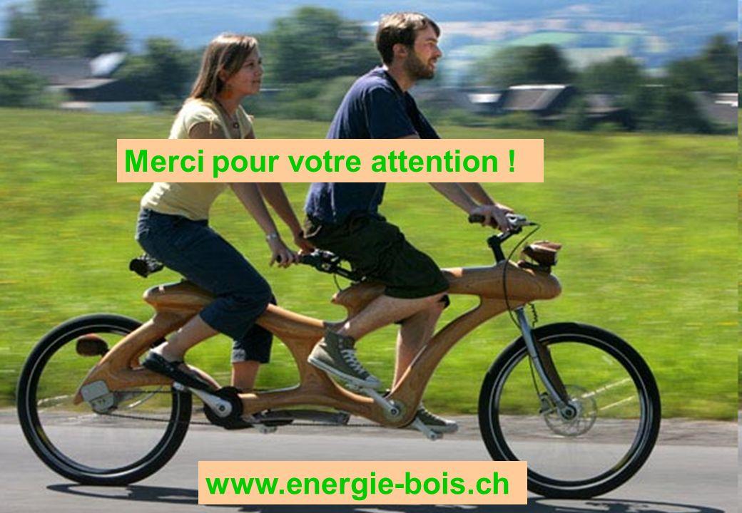 . Ihr Logo Merci pour votre attention ! www.energie-bois.ch