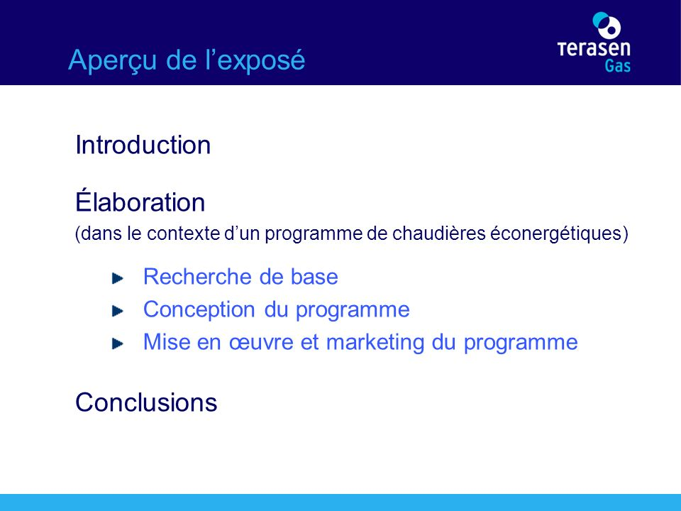 Introduction Terasen Inc.