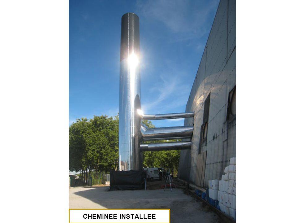 CHEMINEE INSTALLEE