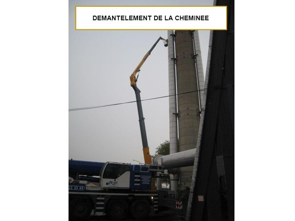 DEMANTELEMENT DE LA CHEMINEE