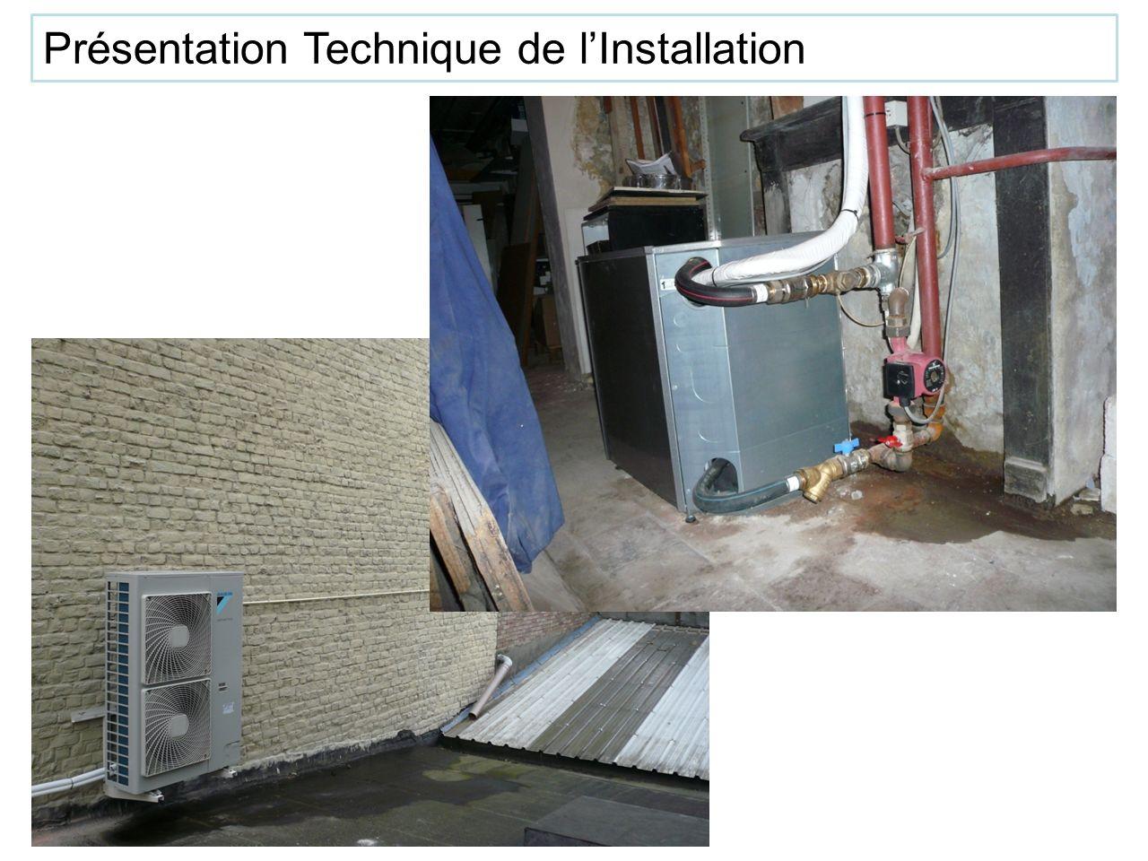Remplacement de chaudière Présentation Technique de lInstallation