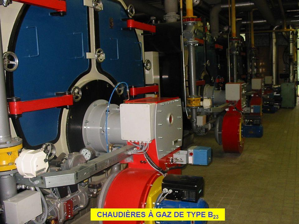 CHAUDIÈRES À GAZ DE TYPE B 23