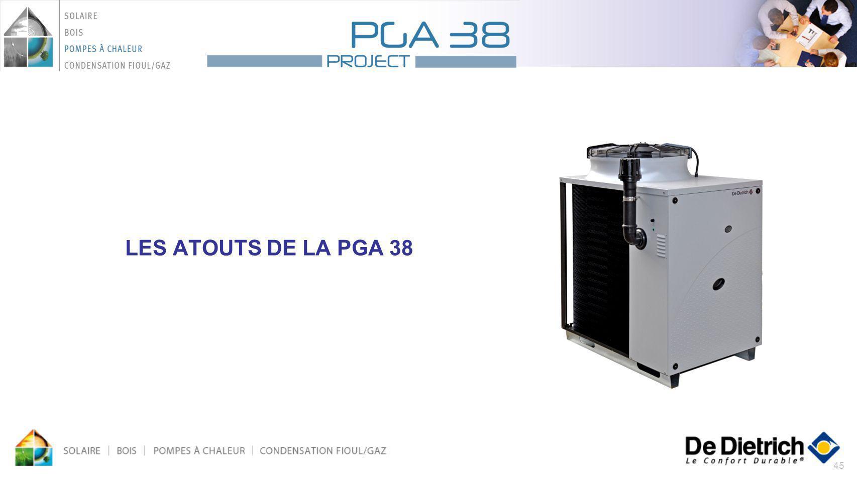 45 LES ATOUTS DE LA PGA 38