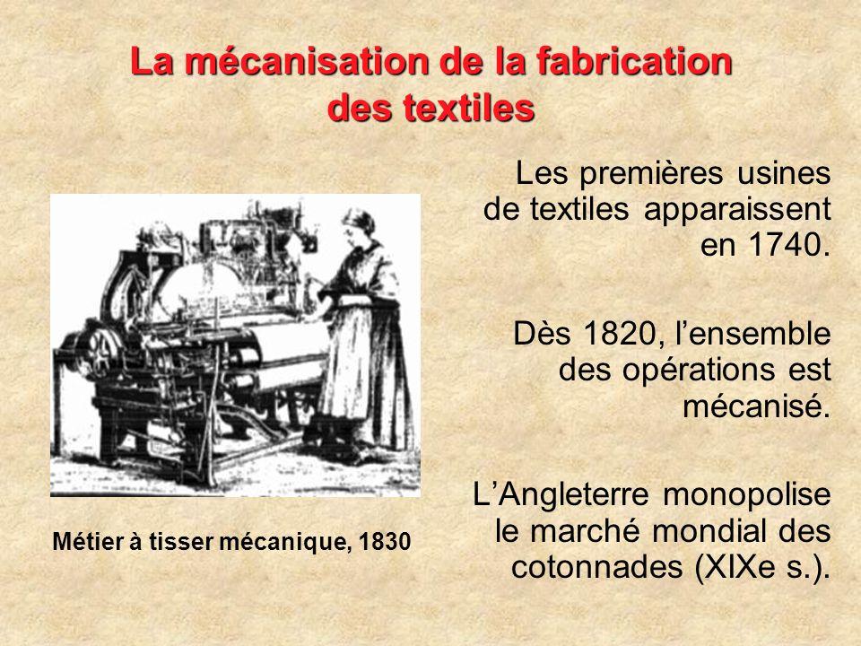 Lutilisation de la coke dans la fabrication de la fonte Le traitement du fer par la coke (charbon de terre grillé) permet la fabrication dune fonte pl