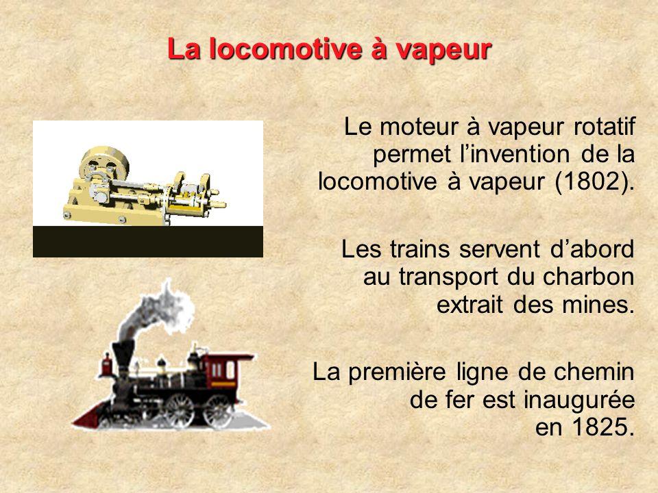 - 3 - LES CHANGEMENTS TECHNOLOGIQUES DANS LES TRANSPORTS La gare Saint-Lazare Monet, 1877