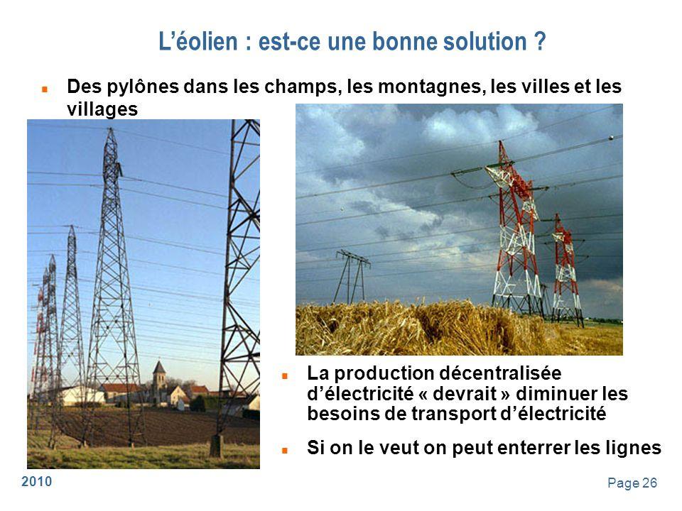 2010 Page 27 Léolien : est-ce une bonne solution .