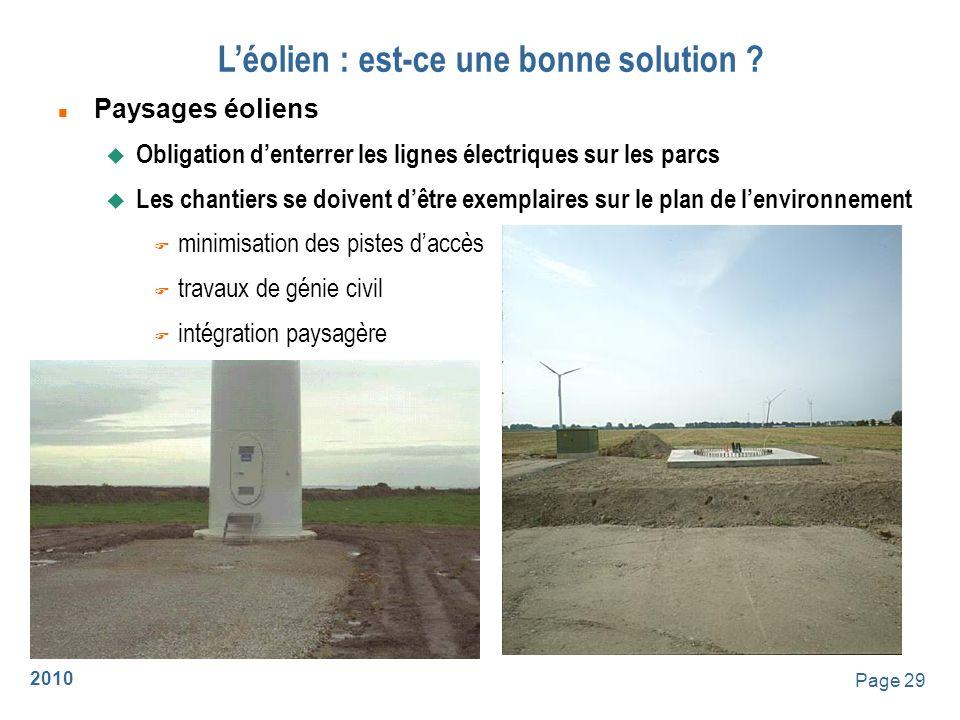 2010 Page 30 Léolien : est-ce une bonne solution .