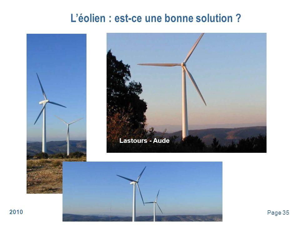 2010 Page 36 Léolien : est-ce une bonne solution .