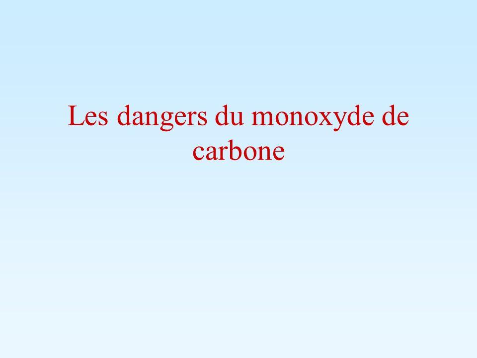 Gaz dangereux et mortel: Cest un gaz inodore et invisible.